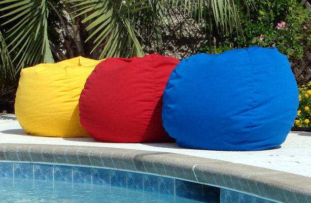 Outdoor Bean Bag Chairs - Indoor / Outdoor Bean Bag Chair
