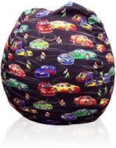 Custom Cars Fabric Bean Bag
