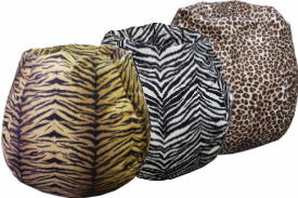 Jungle Theme Bean Bag Chairs