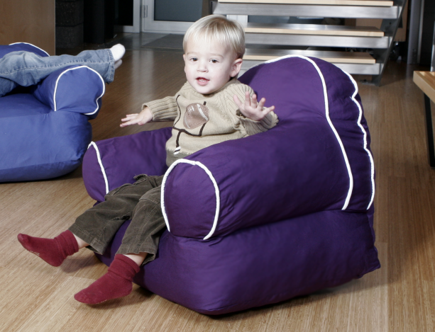 Toddler In Tink Armchair