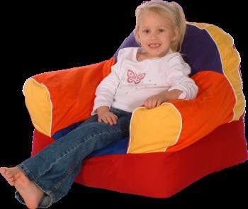 Kids Multicolored Foam Filled Soft Chair