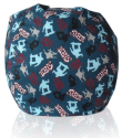 Skater Fabric Bean Bag Chair