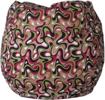 Trippy Retro Bean Bag Chair