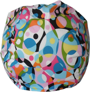 Enjoyable Kaleidoscope Bean Bag Chair Squirreltailoven Fun Painted Chair Ideas Images Squirreltailovenorg