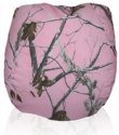 Bean Bag Chair with Pink Hunter's Camouflage Fabric (Camo)