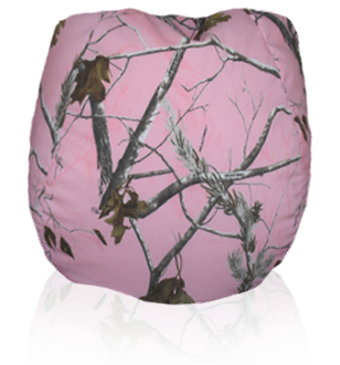 Pink Hunter S Camo Bean Bag