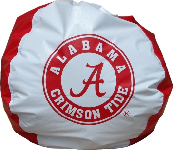 Strange Alabama Crimson Tide Bean Bag Chair Ibusinesslaw Wood Chair Design Ideas Ibusinesslaworg